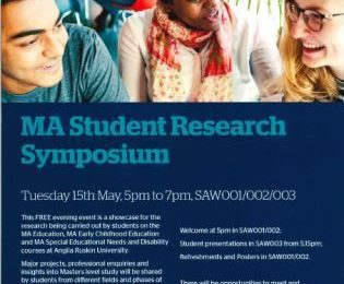 MA Student Research Symposium